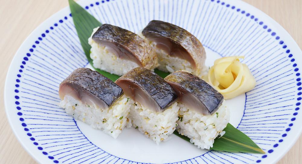 キバリ 焼鯖寿司1